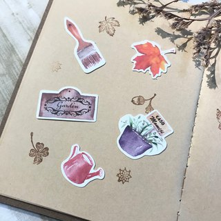 Pocket Stickers - Garden Groceries