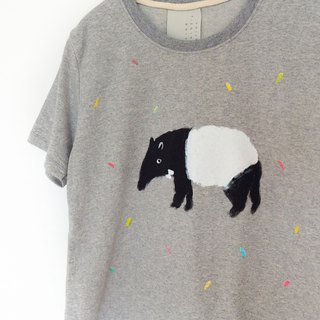Tapir: short sleeve crop top