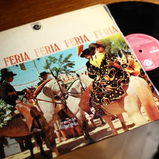 72. Spain Feria old vinyl records