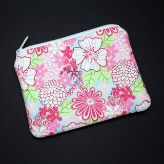 Zipper pouch / coin purse (padded) (ZS-227)