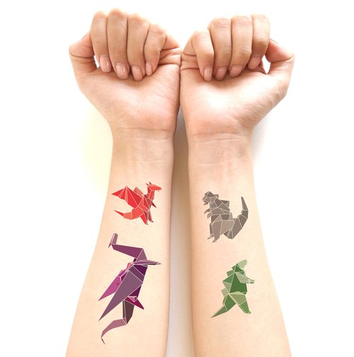 Dinosaur Tattoo Sticker Set