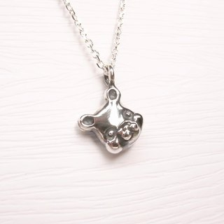 Ermao Silver [Little Bear Silver Necklace]