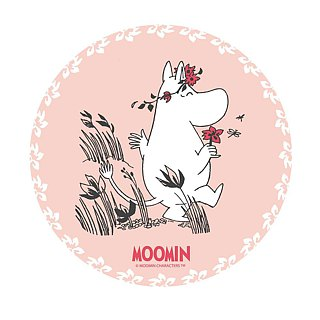 Moomin Moomin authorization - water coaster: [A Midsummer Night (blue)] (round / square)