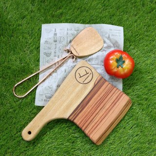 Small Chopping Knife Shaped Serving Board