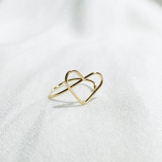 Love 。Ring。HEART。14Kgold。
