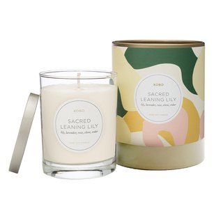 [KOBO] American Soy Essential Oil Candle - Pure Lily (330g/combustible 80hr)