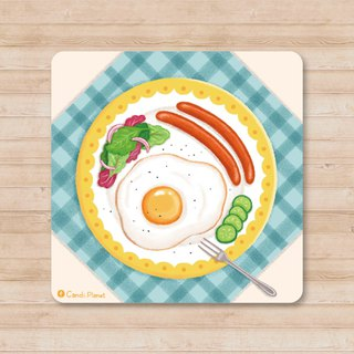 Taste Beauty / Sun Egg and German Sausage Package. Universal card
