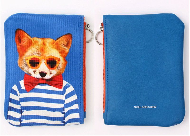 STILL AND CHEW Mixmatch Pouch (小) - GENTLE FOX
