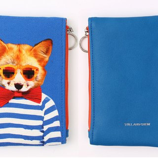 STILL AND CHEW Mixmatch Pouch - GENTLE FOX