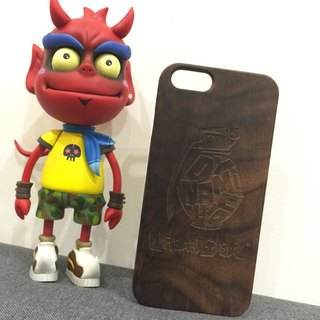 Free shipping Taiwan local wood Muke green CHINGxUrbanDevil evil magic stay this naughty grenades newly opened exclusive customized mobile phone shell iPhone Limited (i5 / s / i6 / s / i6plus / s Samsung S4 / 5/6/7 Note 4/5 SONY Z4 / 5 LG G4 / 5)