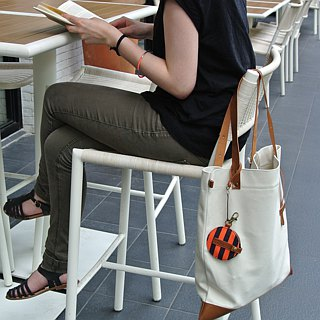 Travelholic Tote Bag- White