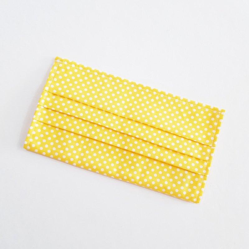【點點黃】 棉質口罩套 成人尺寸 薄棉布 20天出貨 可寄國外