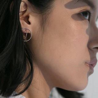 Planet Earrings / 925 Sterling Silver / Ear Earrings / Earrings