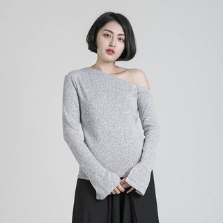 Emotional Sensual Shoulder Top _8AF003_麻麻