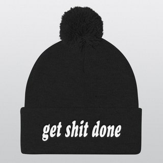 Pom Pom Hat, Beanie, Beanie Hat, Pom Pom Beanie, Instagram Prop, Gift Ideas, Christmas Gifts, Winter Hat, Photo Booth, Cool Hat, Get Shit Done
