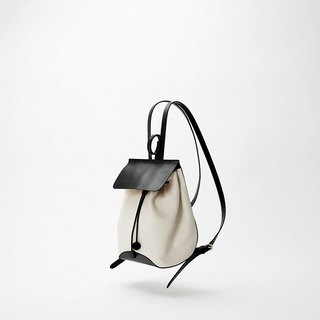 Bodhi says FOSTYLE first layer textured leather bucket bucket backpack handmade B06 white kangaroo backpack