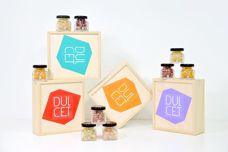[DULCET dry jam] Fruit sweet pepper colorful gift box 9 cans