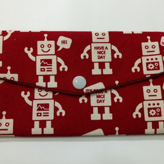 Lucky double red envelope bag / passbook storage bag (10 robot collection)