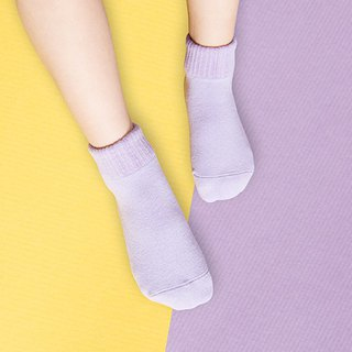 Macarons anti-slip 1/2 socks (night sky purple)