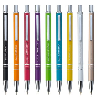 [IWI] Message Pen Information Pen 0.5mm blue oily pen - single support