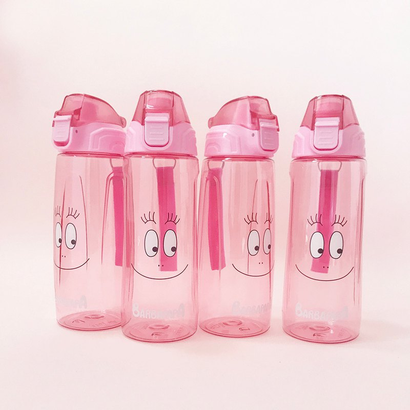 BARBAPAPA Mr. Bubble - TRITAN Environmental Bottle Kettle Water Bottle