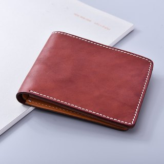 Shaped Pillow Brown Short Clip / Wallet / Wallet
