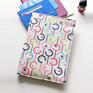 Passport Cover (Colorful Rings)