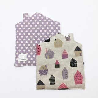 【La la la】 small home love _ housing section heat pad / limited hand / table decoration