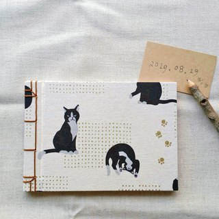 Animal looking forward Chinese lined book handmade book manual notebook blank hand book