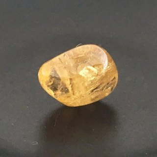 Natural Imperial Topaz ◇ Pin Brooch