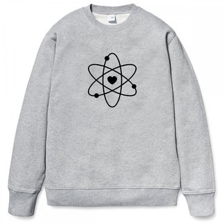 Atom Heart gray sweatshirt