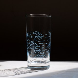 1983ER Glass 400ml Wave