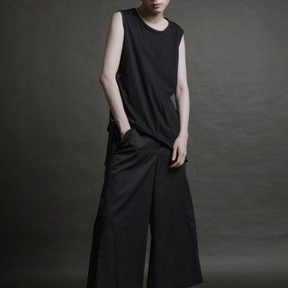 Sunscreen series - special double-layer bag wide pants (SSP-MP-01)