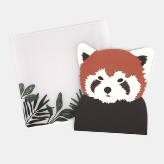 Dailylike Animal Postman's Card Group-01 Red Panda, E2D46725