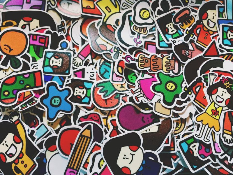 "Scattered lover ""stickers group"""