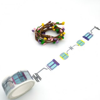 Hong Kong Cable car washi tape/masking tape