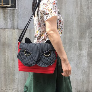 [Cat Messenger Bag]