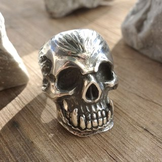 Sterling Silver - Orc Ring