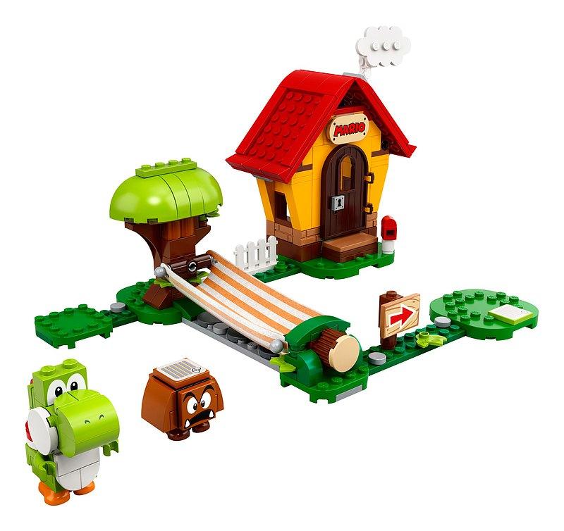 LEGO樂高 超級瑪利歐系列 瑪利歐之家 & 耀西 71367
