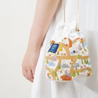 :::Bangstree:: Shoulder Bucket Bag - Polar bear
