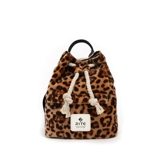 [RITE] Le Tour Series - Dual-use Boxing Small Backpack - White Leopard