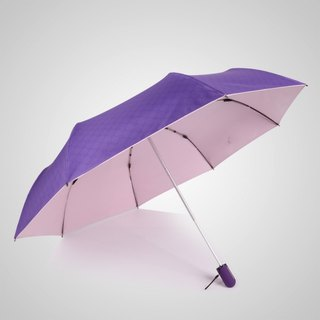 [Germany] Kobold Anti-UV Pink Queen Series - Silicone Honeycomb - Massage Handle - Shade Sunscreen 30 percent umbrella - Extra Purple