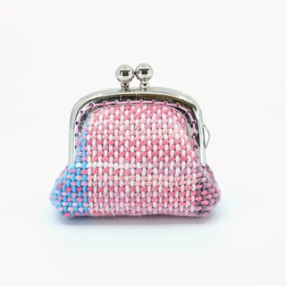 My Handwoven Petite Kisslock Purse - Sweet Summer