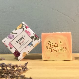 Rose Olive Soap Cold Handmade Soap Dry/Neutral Skin Apply