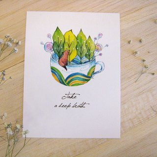 """─ Department of Natural Forests and fox"" Postcards"