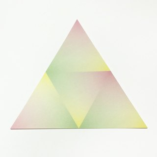 Japan KAMOI mt CASA sheet Triangle and paper stickers [gradation (MT03WST001)]