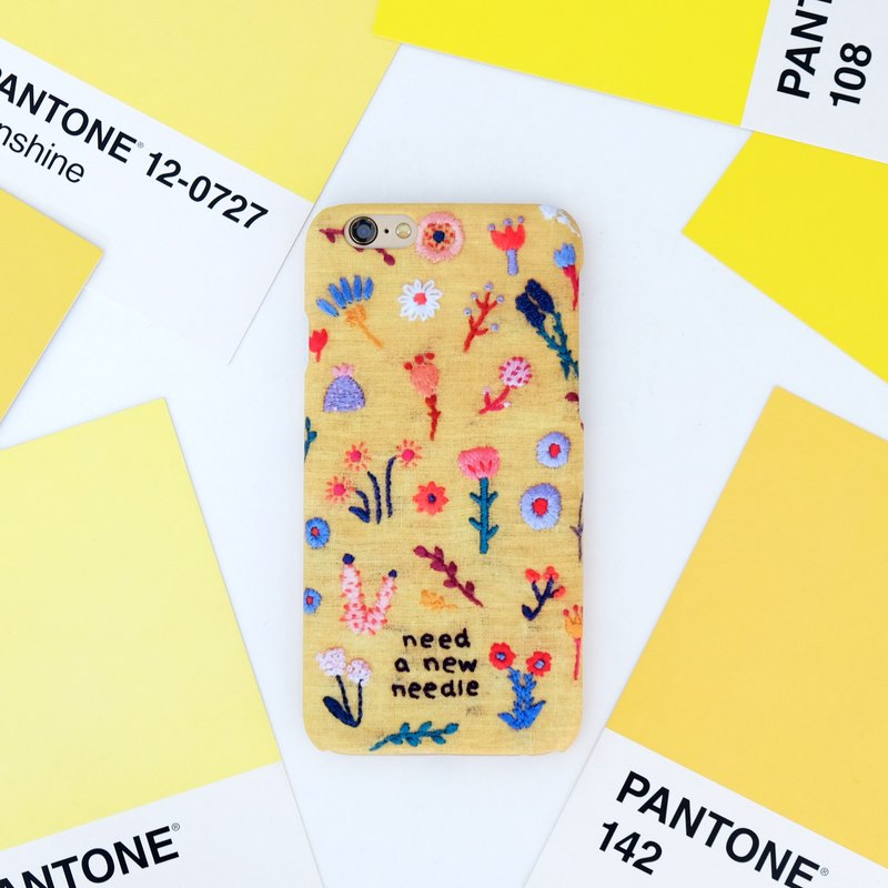 YELLOW BLOSSOM iPhone Case
