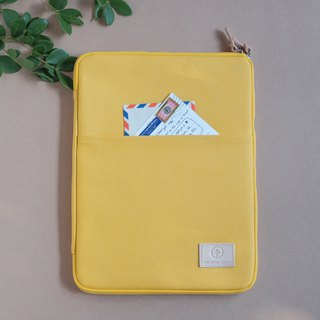OVERTIME laptop sleeve - Yellow
