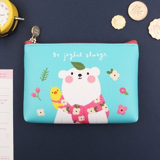 Jenny Mini Wallet / Storage Pack -04. Happy