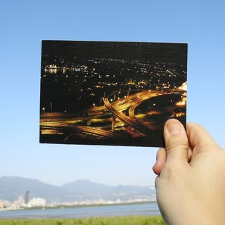 Quietly draw cool card / multifunctional storage postcard / Zuoying Highway